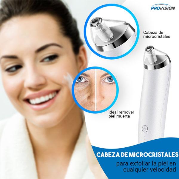 aspirador de poros Cabeza microcristales exfoliante