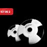 Kit de 2 Cámaras PROVISIÓN 360 Grados (Celulares IOs y Android)
