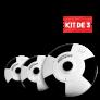 Kit de 3 Cámaras PROVISIÓN 360 Grados (Celulares IOs y Android)