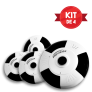 Kit de 4 Cámaras PROVISIÓN 360 Grados (Celulares IOs y Android)